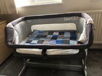 Chicco Next 2 Me dream side sleeping crib - graphite