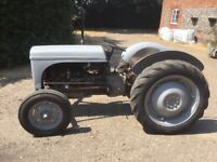 Classic Ferguson Tractor (TED)