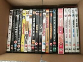 Assorted DVDs Bundle