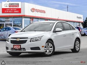 2012 Chevrolet Cruze LT Turbo One Owner, No Accidents