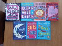 Jacqueline Wilson books. Collection of 7 Hardback Books