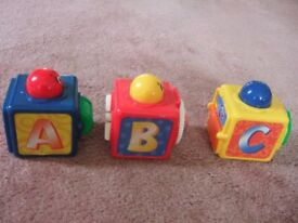 Fisher Price Basics Stacking Action Blocks