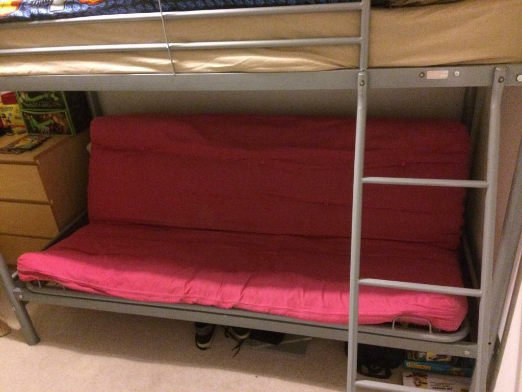 Bunk Bed With Double Bed Sofa Underneath In Mansfield