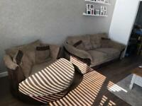 Swivel chair and sofa