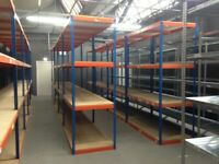 JOB LOT rapid1 industrial long span shelving as new! ( pallet racking , storage)