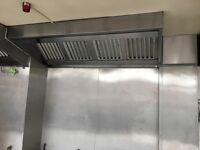 Commercial Kitchen Extractor Canopy