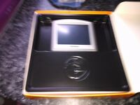 tom tom one car sat nav boxed complete with case