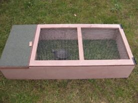 NEW TORTOISE HEDGEHOG GUINEA PIG SMALL RABBIT OUTDOOR RUN WITH SHELTER