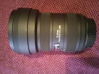 Sigma 12-24mm f4.5-5.6 II DSG HSM Ultra wide angle lens for Canon