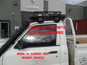 Toyota Landcruiser 79series UTE Cabin ALLOY Roof Rack Cage 850x1250mm small size