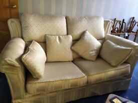 Three Piece Suite with recliner on armchair - Price Reduced!