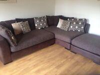 Fabric Corner Sofa dfs