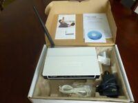 Modem Router T-P Link 54M Wireless G ADSL2+