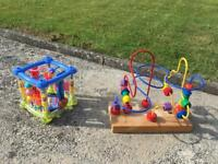 Selection of toddler toys