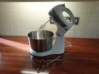 Electric mixer with stand
