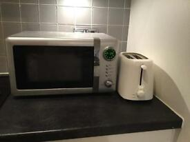 Digital Microwave + toaster