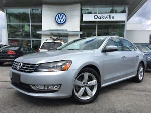 2015 Volkswagen Passat 2.0 TDI Comfortline Leather Sunroof Bluet