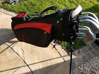 Falcon Golf Set with freestanding bag! REDUCED!