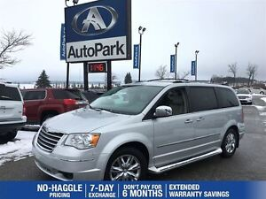 2010 Chrysler Town & Country Limited   Navigation   Heated Leath