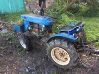 ISEKI TX 4x4 Classic Compact Tractor with many accessories - similar to Kubota