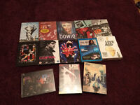 12 music DVDS for £10