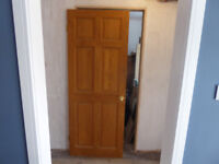 8 x Used Internal Pine doors for collection