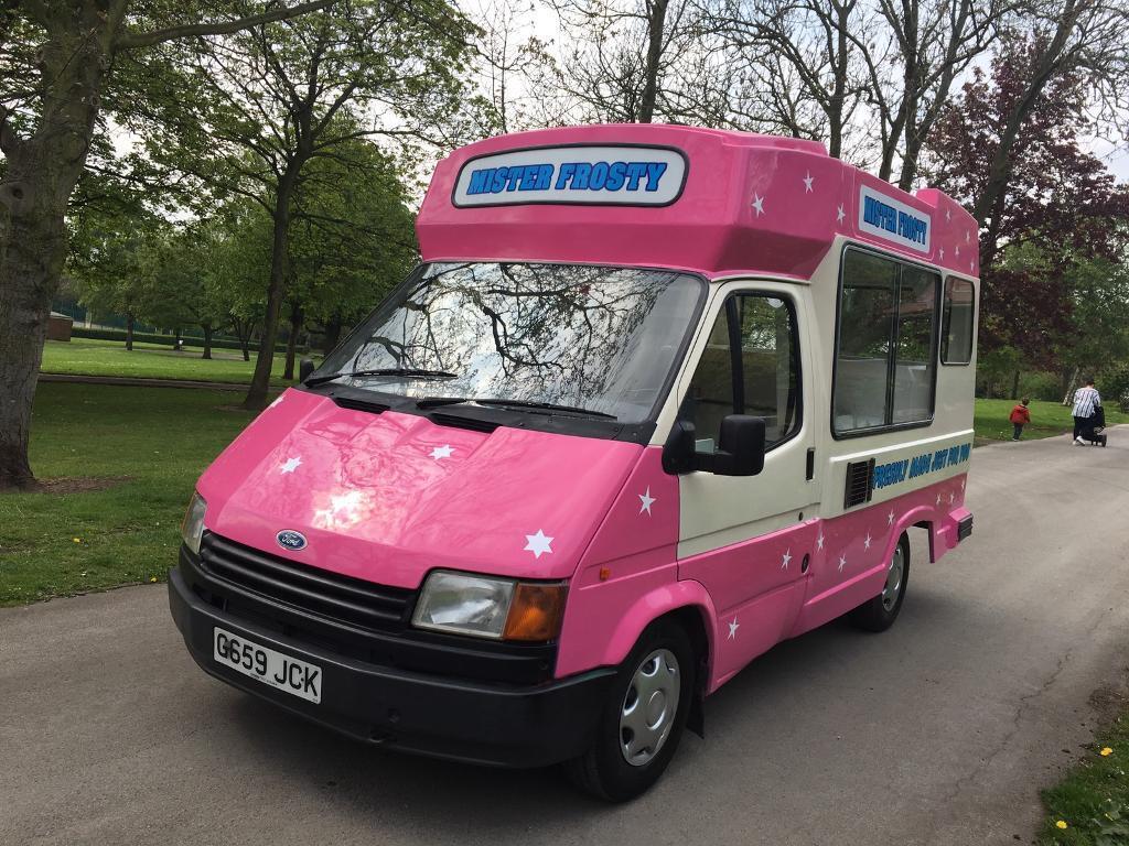 1990 Ford Transit Ice Cream Van In Castleford West