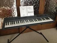Casio song-bank electric keyboard CTK-450 boxed in excellent condition