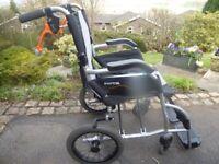 Karma Ergo Lite folding wheelchair
