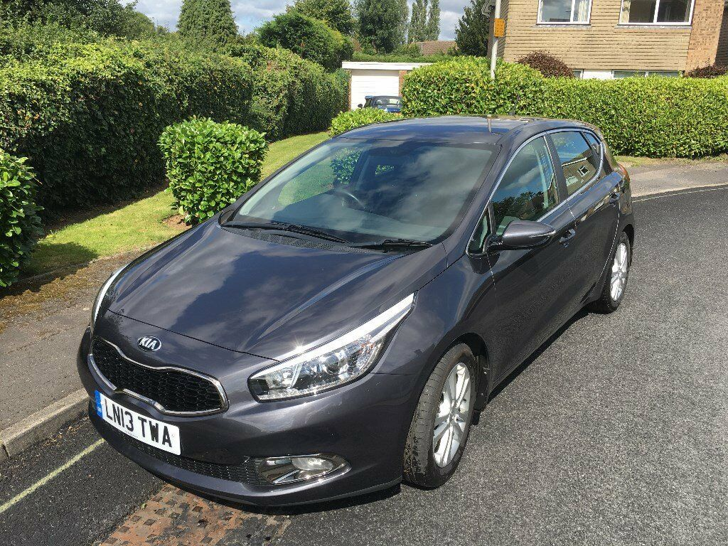 KIA CEE'D 2, MOT till July 2018, 2 years FREE service, diesel, well looked after car