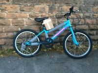"New Falcon Starlight Girls Mountain Bike 20"" Wheels RRP £190"