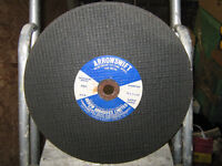Cutting Discs - 12 inch Stone & Metal Available