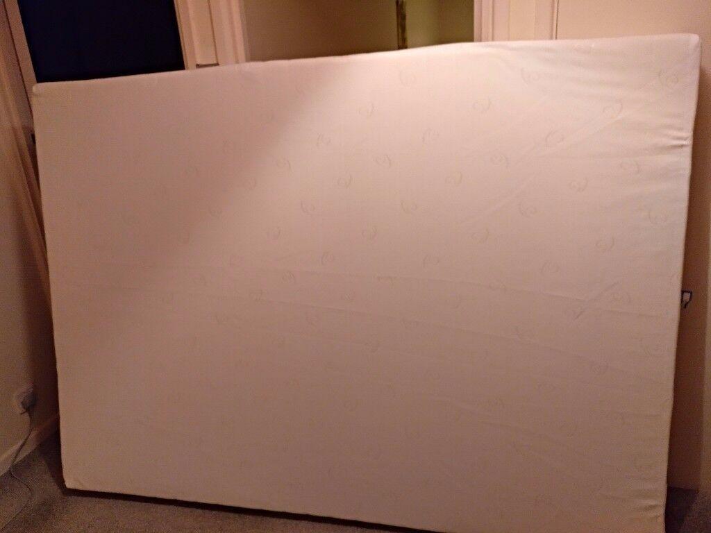 Double memory form mattress