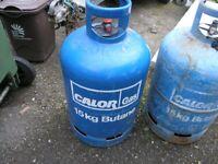 Calor Gas Bottle 15kg empty blue Butane Weymouth