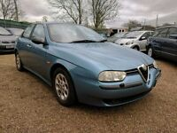 ALFA 156 2.0 SELESPEED LUSSO - GREAT SPEC - CHEAP PX TO CLEAR