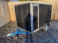 NEW 8ft x 5ft x 5ft Box Tow a Van Trailer ( quad motorbike power washer lawn mower )
