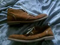 Desert boots by howick size 10