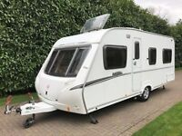 Abbey Vogue 495 2007 4 Berth Caravan with Fixed Bed and Motor Movers