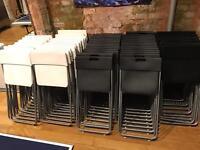 Lots of Ikea Jeff folding chairs