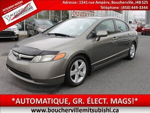 2006 Honda Civic LX*AUTOMATIQUE, GR. ÉLECT.*