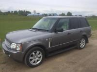 Range Rover tdv8 6speed 1 years mot no swap px