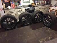 """20"""" alloys with tyres for Renault Master or Vauxhall Movano"""