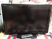 """Toshiba LCD TV REGZA 32"""" + Remote."""