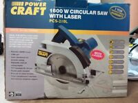 Power craft circular saw