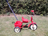 Italtrike Classic Line kids trike, age 2-4, red