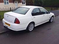 Rover 45 saloon in RARE dover white!
