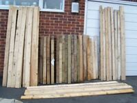 WOOD,TIMBER FOR BUILDING,GARDEN PROJECTS,PLANTERS,FENCING ETC.