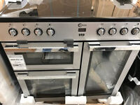 FLAVEL ELECTRIC RANGE COOKER 90CM (NEW) COMES WITH G/TEE AND DELIVERY ALSO AVAILABLE