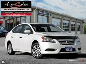 2013 Nissan Sentra ONLY 33K! **SV MODEL**SUNROOF**BLUETOOTH**...
