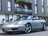 2002 PORSCHE BOXSTER FACELIFT 2.7 VERY HIGH SPEC BARGAIN